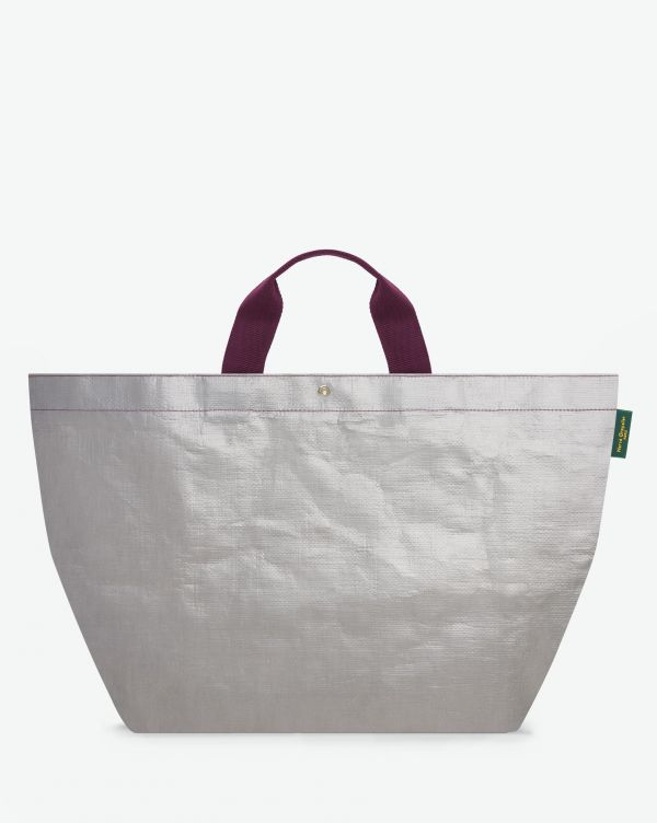 Hervé Chapelier - 2013PP - Tote bag square base with basic shape , without zipper, Size XL