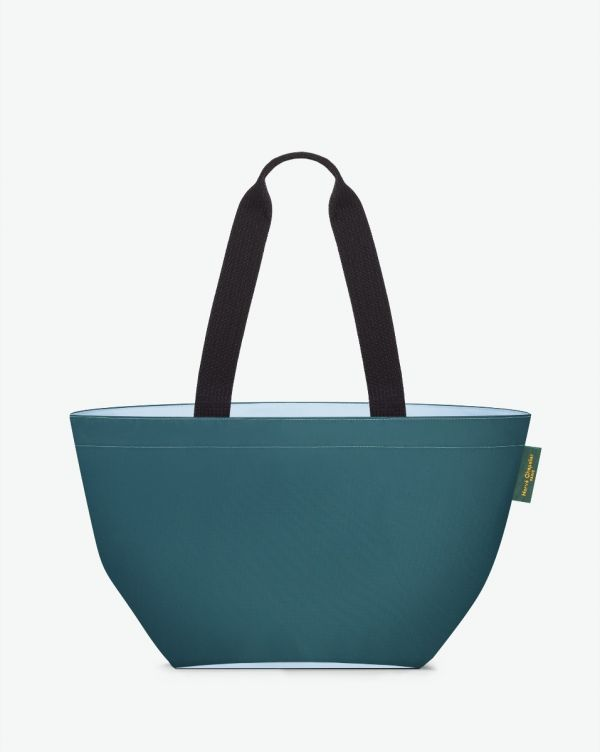 Hervé Chapelier - 1028N - Shopping bag square base with basic shape Size M