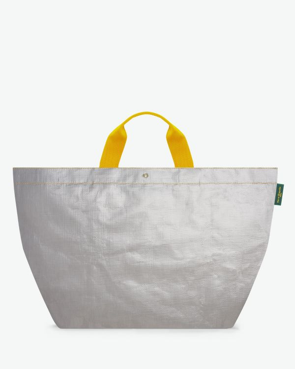 Hervé Chapelier - 2013PP - Tote bag square base with basic shape, without zipper, Size XL