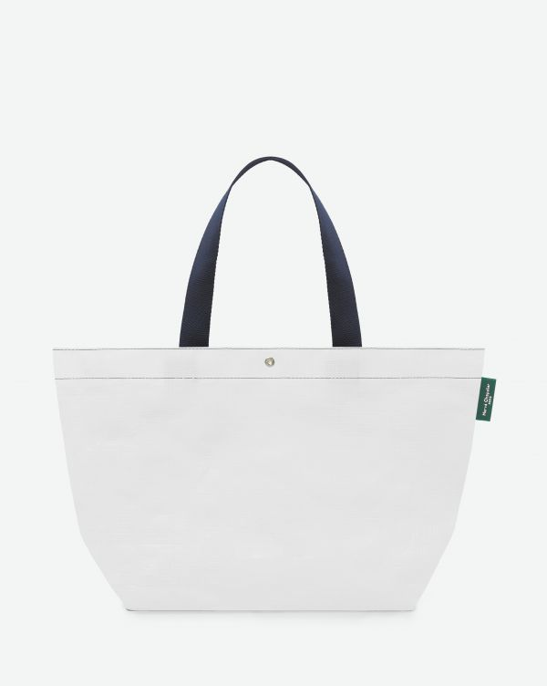 Hervé Chapelier - 4012PP - Shopping bag rectangular base with basic shape, without zipper, Size M