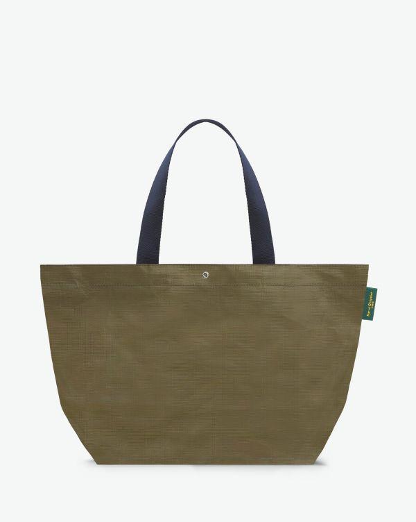 Hervé Chapelier - 4014PP - Shopping bag rectangular base with basic shape, without zipper, Size L