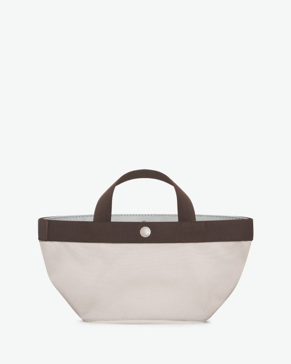 Hervé Chapelier - 701GP - Tote bag square base with basic shape Size S