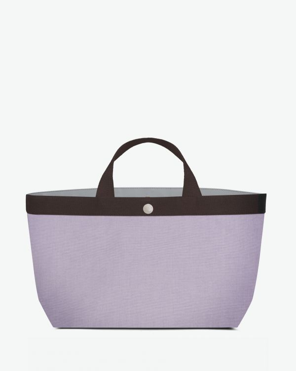 Hervé Chapelier - 704GP - Tote bag rectangular base with basic shape Size M