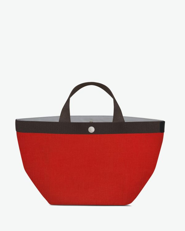 Hervé Chapelier - 707GP - Tote bag square base with basic shape Size M
