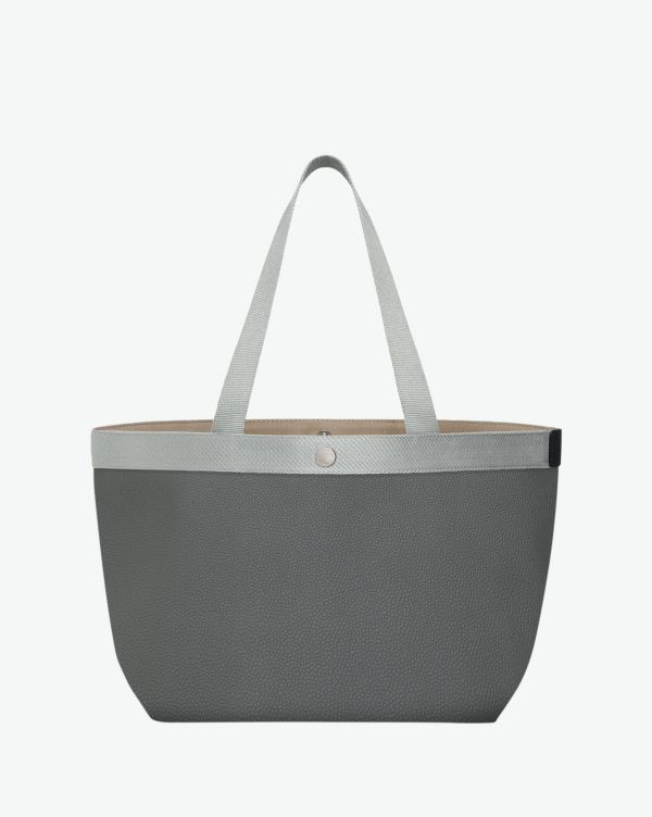 Hervé Chapelier - 708GP - Shopping bag rectangular base with vertical shape Size L