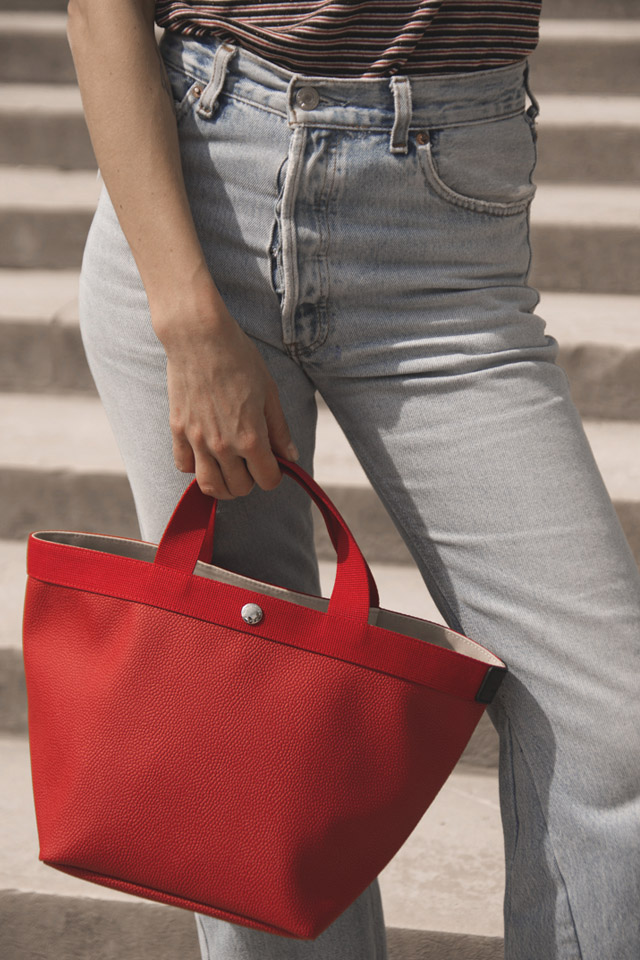 check-out 49d96 026c7 HERVE CHAPELIER - OFFICIAL WEBSITE - Bags made of pebbled ...